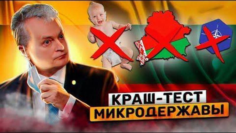 Краш-тест микродержавы Литвы. Демографическая проблема. Непризнание Лукашенко