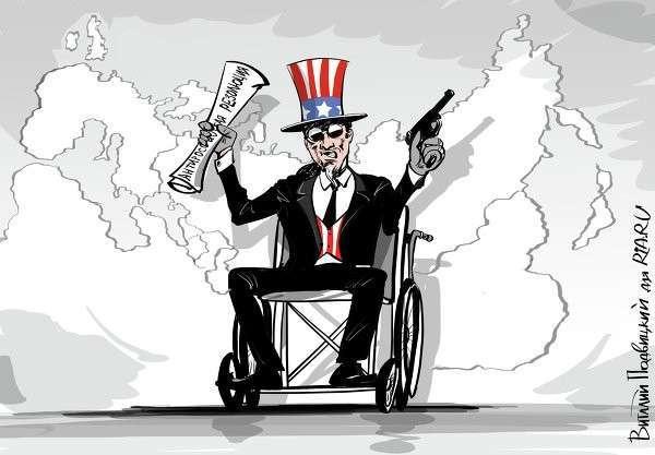 С потерей военного превосходства США доллар утратит мощь