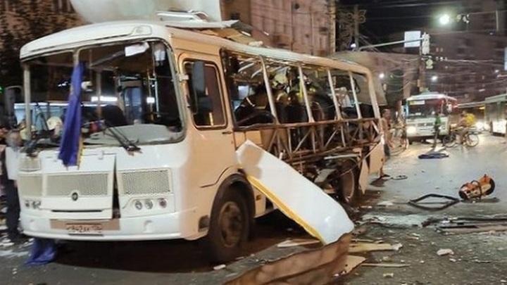 Взрыв автобуса в Воронеже: пострадали 19 человек, один – погиб