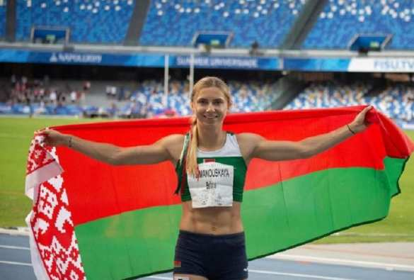 «Не самый умный шаг»: беглая белорусская спортсменка начала о чём-то догадываться   Русская весна
