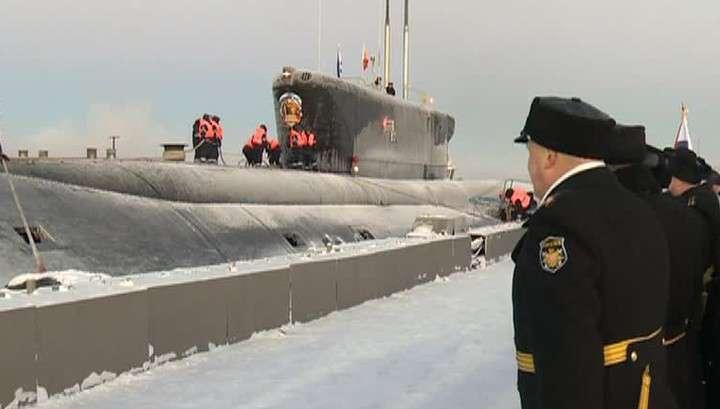 Подводники Тихоокеанского флота празднуют юбилей