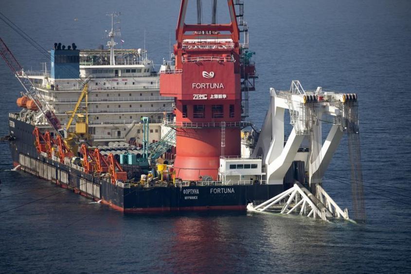 На выход из датских вод. Фортуна продолжает строительство СП-2 после шторма
