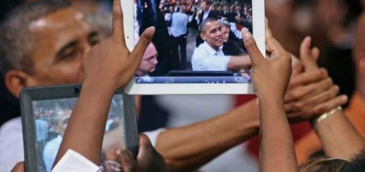 Обама ойпад