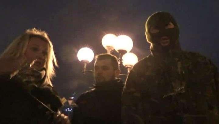 Киевский суд отпустил подозреваемого в нападении на журналистов LifeNews