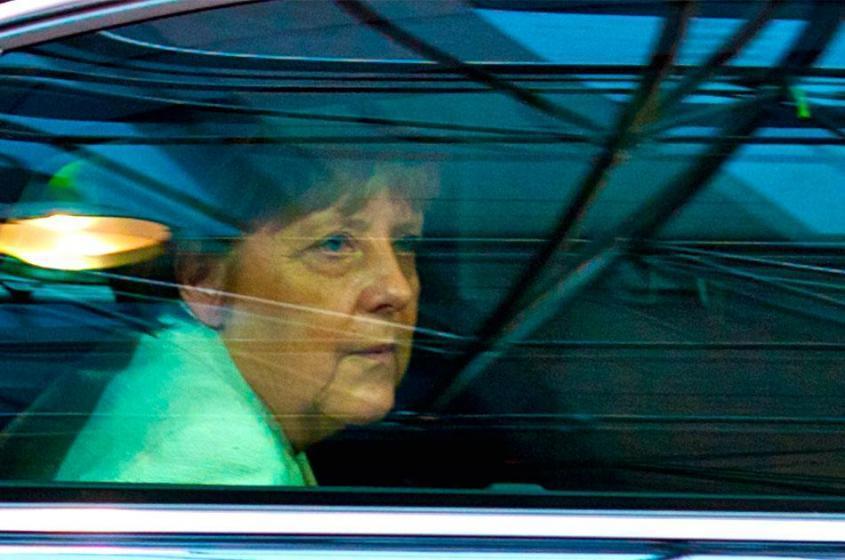 Путин намекнул Меркель как им обустроить Германию
