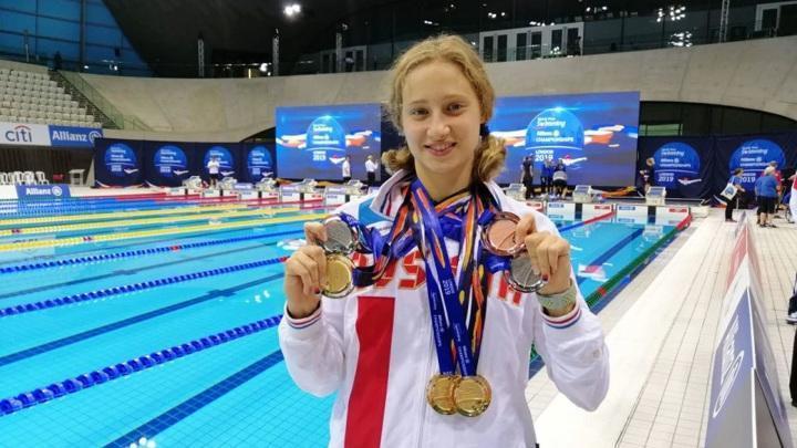 Российские пловцы завоевали шесть медалей в первый день Паралимпиады