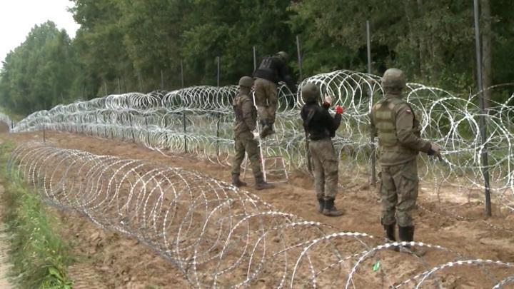 Польша ввела режим ЧП на границе с Белоруссией