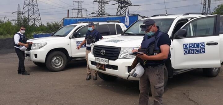 Россия выгнала миссию ОБСЕ с линии разграничения между ЛДНР и Украиной
