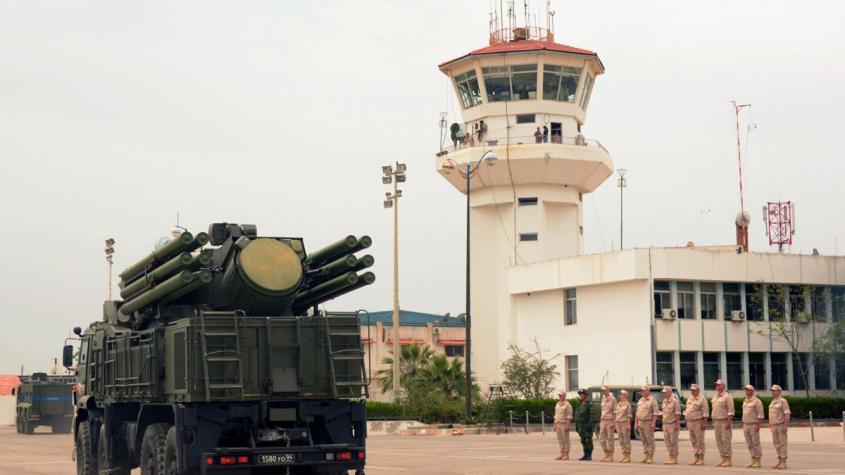 Сирийские ПВО отразили атаку террористического Израиля русскими противоракетными комплексами