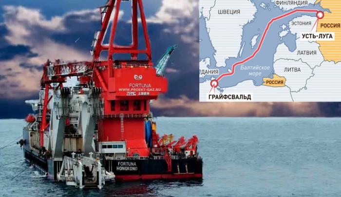 Укладка газопровода «Северный поток – 2» закончена: осталось сварить только «золотой шов»