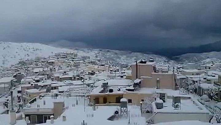 В Греции, Турции и Иордании начались аномальные холода