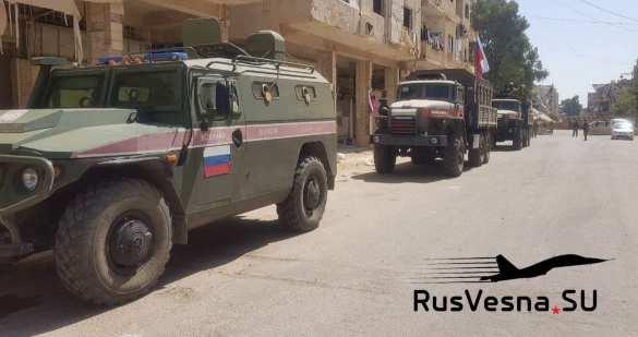 Сирия: боевики из Дерра выстраиваются в очереди и сдают оружие | Русская весна