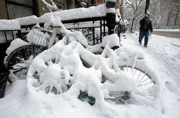 Ледниковый период наступил в Чикаго
