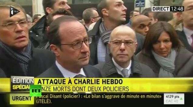 Терракт в центре Парижа: Расстреляны 11 человек в редакции журнала Charlie Hebdo