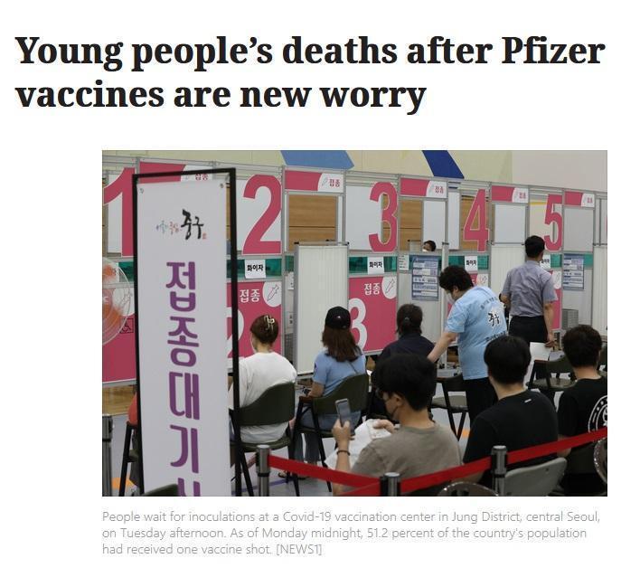 В Южной Корее молодые люди умирают после прививок вакциной Pfizer