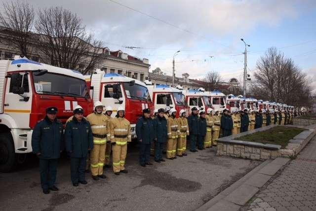 МЧС Крыма получило новую пожарную технику