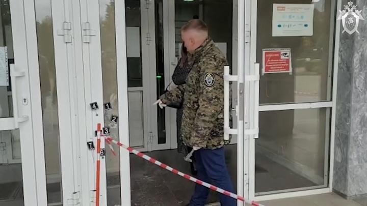 Появилось видео с места побоища в Пермском государственном университете