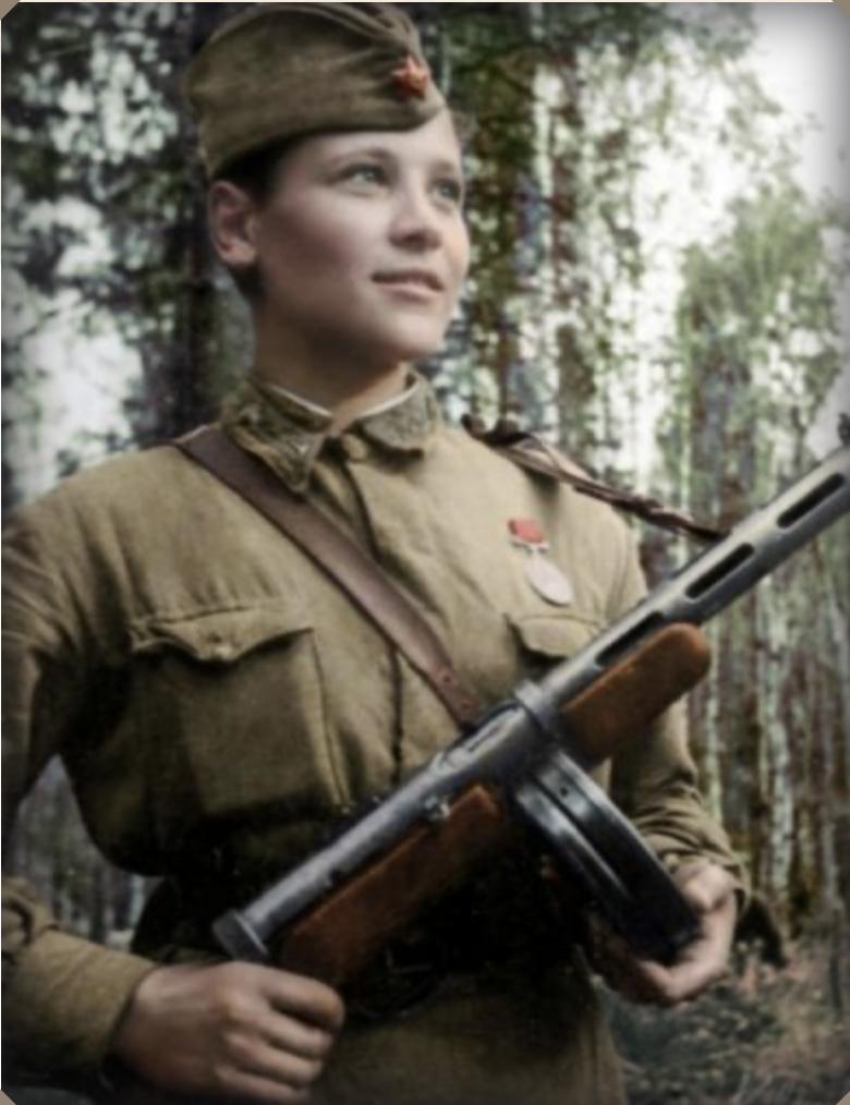 Люба Карцева. Когда началась Великая Отечественная война, ей было 19 лет