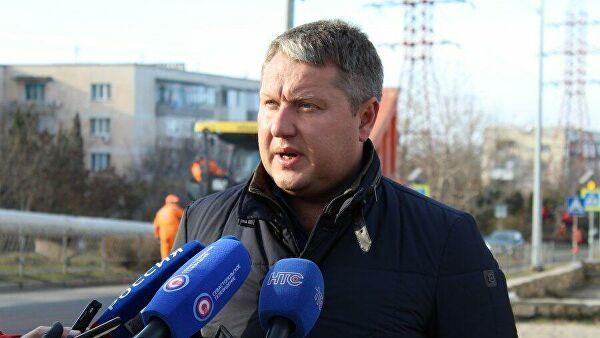Министр транспорта Республики Крым Евгений Исаков