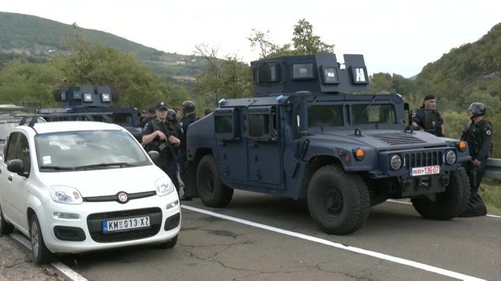 Обострение на границе Сербии и Косова: Белград готов к решительным действиям. Новости на