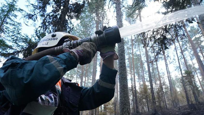 В России изобрели новый способ борьбы с лесными пожарами с помощью ракетных технологий