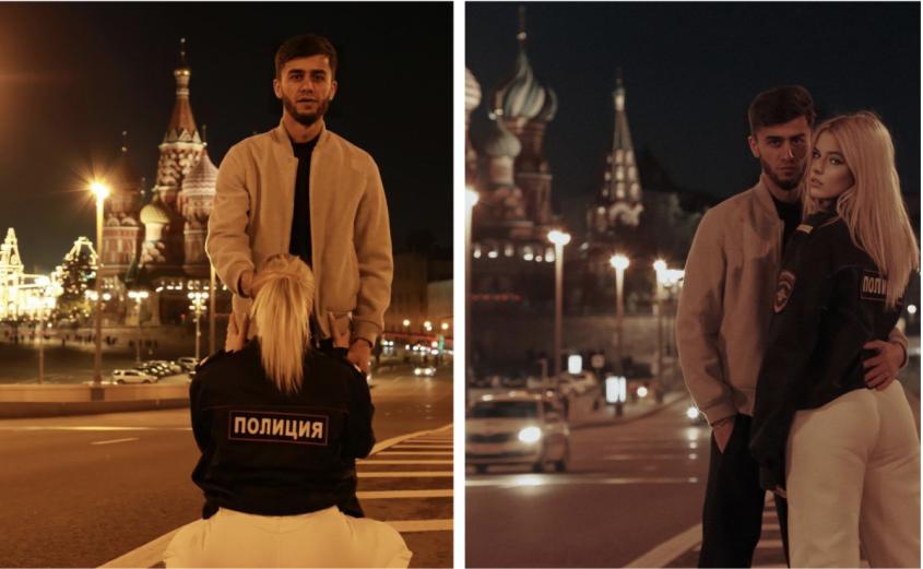 Блогер Руслан Бобиев приехал в Россию и демонстрирует уважение к полиции и православию
