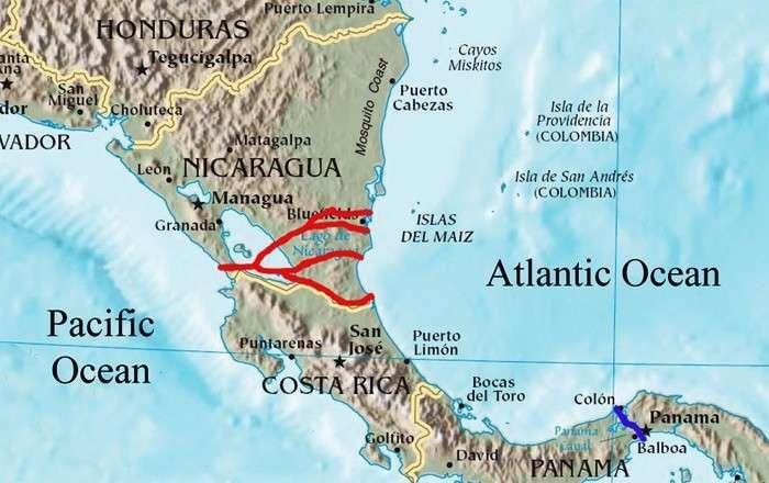 Крымский сценарий для Никарагуа. России следует дать военное прикрытие строительству альтернативы Панамскому каналу до прихода морпехов США