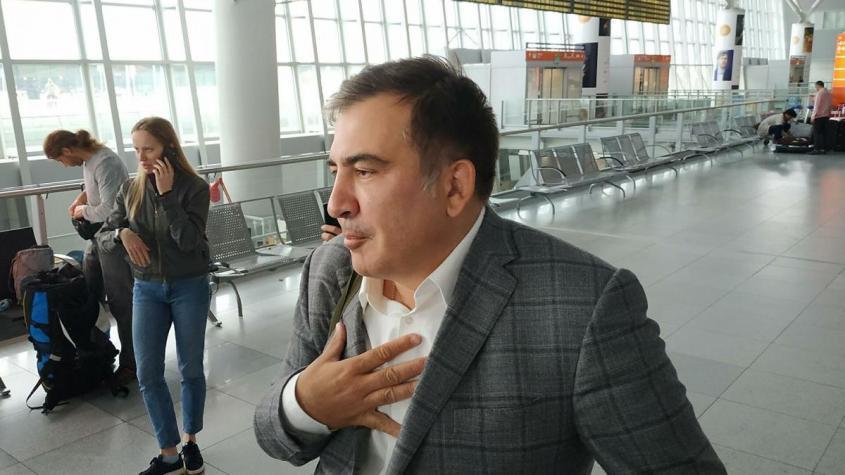 В Грузии задержали бывшего президента Саакашвили