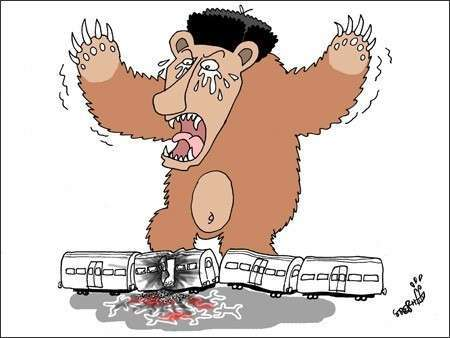 А это карикатуры Charlie Hebdo посвященные терактам в московском метро