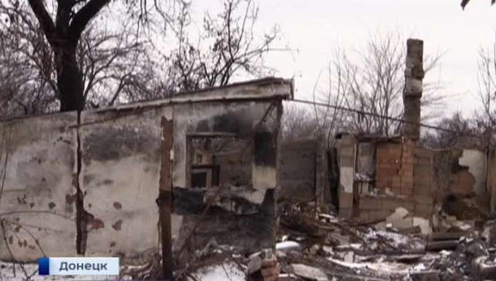Донбасс: за день силовики уничтожили 26 жилых домов