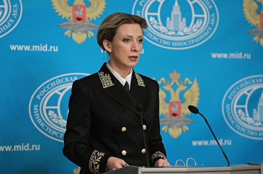 Мария Захарова: «Нам исторически ползти мешают крылья»