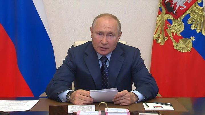 Владимир Владимир Путин: в этом году в России собрали хороший урожай