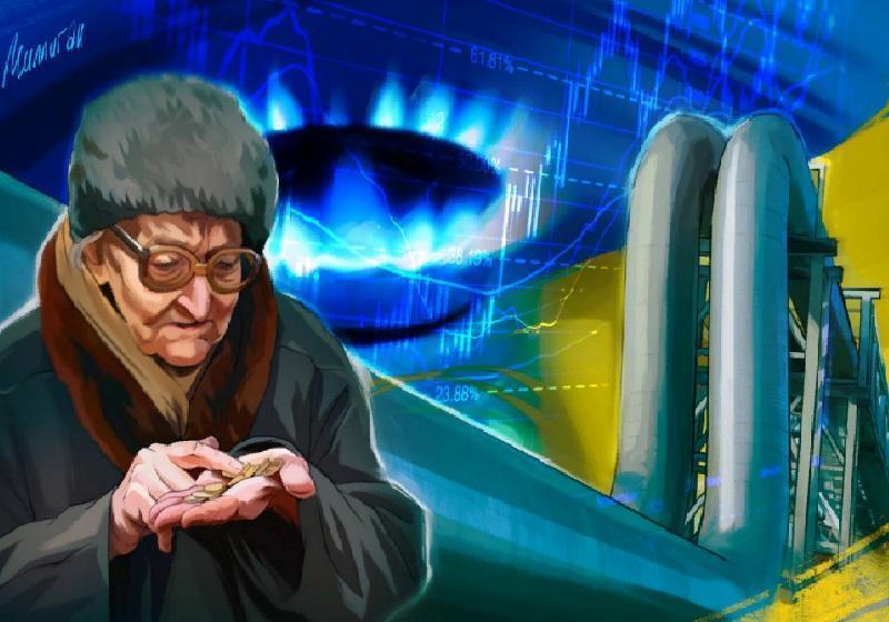 Украинские газовые паразиты ведут страну к социальной и экономической катастрофе