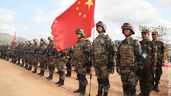 Китай готовится к большой войне с маленьким союзником США