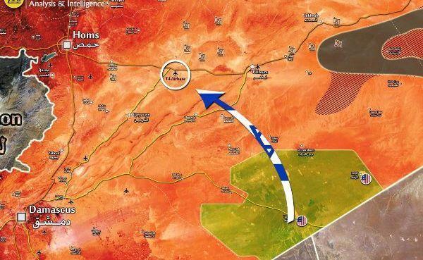 Израиль из Иордании зашëл на удар по Сирии