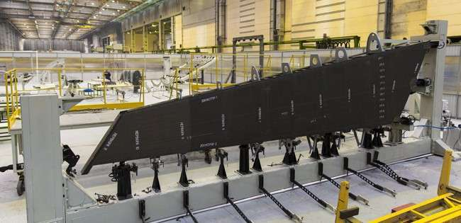 В ЦАГИ начались испытания киля для МС-21