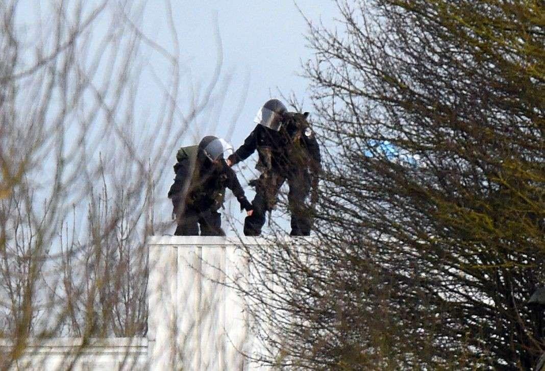 L'assaut lancé par le GIGN contre les preneurs d'otages à Dammartin-en Goële, le 9 janvier.
