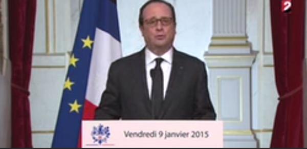 Олланд говорит с народом