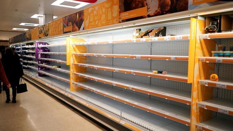 О дефиците продовольствия в Британии