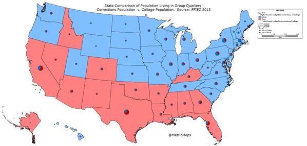 Американская Мечта: Тюрем в США больше, чем колледжей