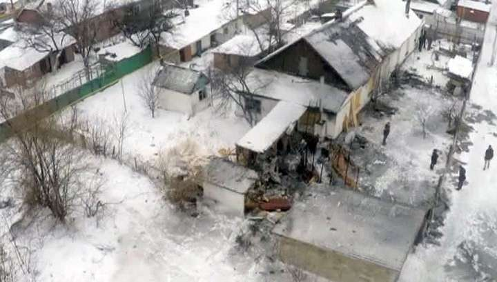Донецк в воскресенье обстреливали из «Градов»