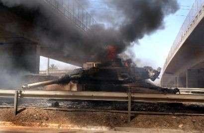 Главное достоинство танка «Абрамс»: он хорошо горит