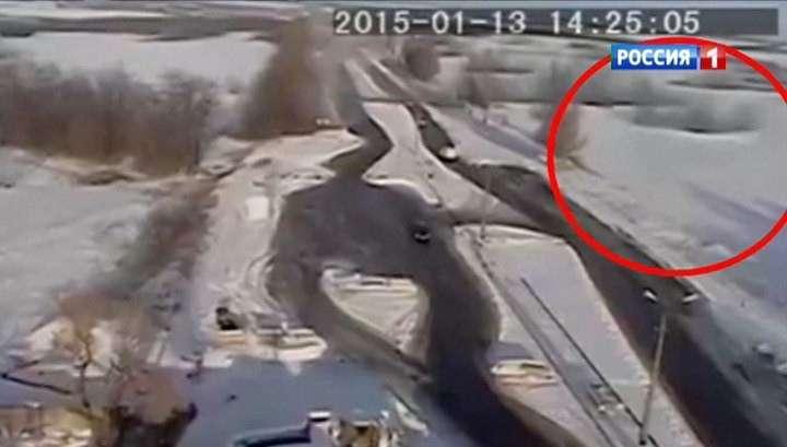 Взрыв автобуса у Волновахи сняли несколько камер
