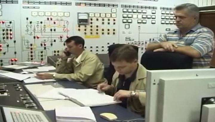На Южноукраинской АЭС произошло возгорание