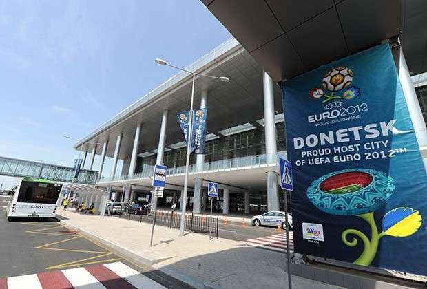 Аэропорт Донецка, 23 июня 2012 года
