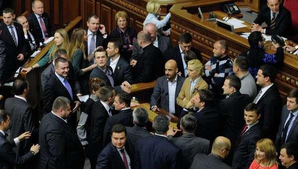 На Украине вдвое повысили зарплаты депутатам Верховной Рады