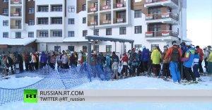 Жизнь после Олимпиады: горные курорты Сочи забиты под завязку