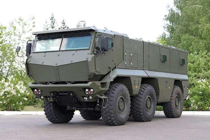 Об испытаниях КАМАЗ-63968 «Тайфун»