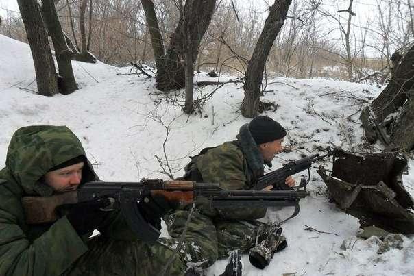Украинские повстанцы начали наступление на Хунту