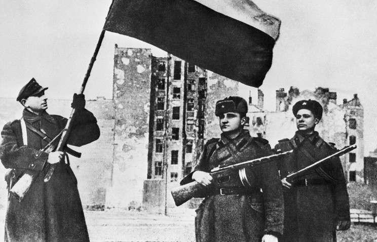 Варшава, 1945 год